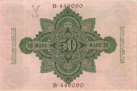 R.025a: 50 Mark 1906 6-stellig (2+)
