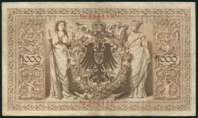R.039: 1000 Mark 1909 (3+)