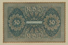"""R.062Ac 50 Mark 1919 """"Reihe 3 """" (1)"""
