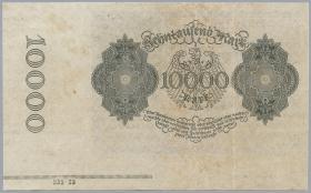 R.069F: 10000 Mark 1922 mit Bogenrand (2)