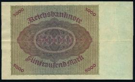 R.086: 5000 Mark 1923 ohne Überdruck (2)