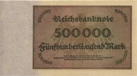 R.087f 500.000 Mark 1923 Privatdruckerei (1-)