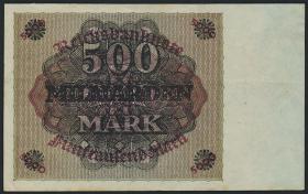 R.121F: 500 Milliarden Mark 1923 Fehldruck (3)