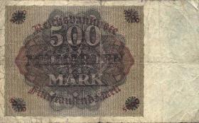 R.121F: 500 Milliarden Mark 1923 Fehldruck (4)