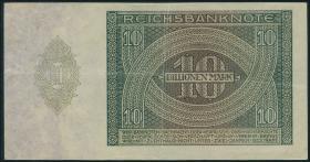 R.134: 10 Billionen Mark 1924 (3+)