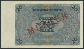 R.135M 20 Billionen Mark 1924 MUSTER (1/1-)