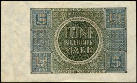 R.138: 5 Billionen Mark 1924 (1-)