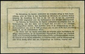 R.146a 8,40 Mark Gold = 2 Dollar 1923 (3)