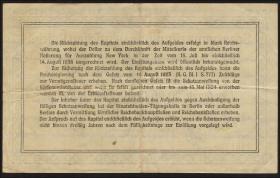 R.151a 4,20 Mark Gold = 1 Dollar 1923 (3)