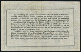 R.151c 4,20 Mark Gold = 1 Dollar 1923 (3+)