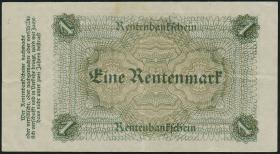 R.154b 1 Rentenmark 1923 Firmendruck (3+)