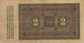 R.155: 2 Rentenmark 1923 (3-)