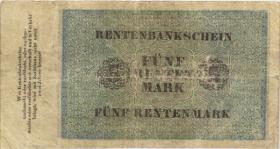 R.156b 5 Rentenmark 1923 (4) 7-stellig