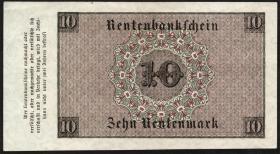 R.157 10 Rentenmark 1923 (1-)