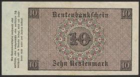 R.157: 10 Rentenmark 1923 (2)