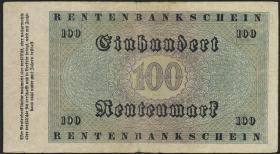 R.159: 100 Rentenmark 1923 (3-)