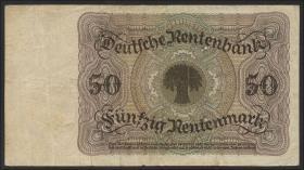 R.162b 50 Rentenmark 1925 Rentenmark(4)