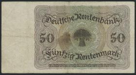 R.162: 50 Rentenmark 1925 (4)