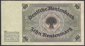 R.163: 10 Rentenmark 1925 (1/1-)