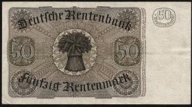 R.165: 50 Rentenmark 1934 v.Stein (2-)