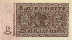 R.167a: 2 Rentenmark 1937 7-stellig (1/1-)