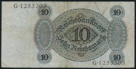 R.168a: 10 Reichsmark 1924 U/G (3)