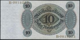 R.168a 10 Reichsmark 1924 G/B (1)