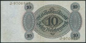 R.168a 10 Reichsmark 1924 C/J (2/1)