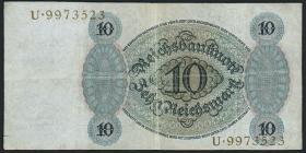 R.168a 10 Reichsmark 1924 C/U (3)