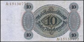 R.168b: 10 Reichsmark 1924 F/A (2/1)