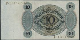 R.168b: 10 Reichsmark 1924 F/F (2)