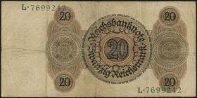 R.169: 20 Reichsmark 1924 W/L (3)