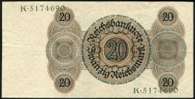 R.169: 20 Reichsmark 1924 Z/K (2)