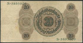 R.169: 20 Reichsmark 1924 H/S (3)