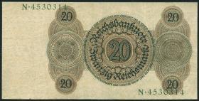 R.169: 20 Reichsmark 1924 N/N (3+)