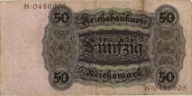 R.170a: 50 Reichsmark 1924 L/O (3)