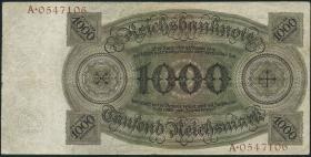 R.172a: 1000 Reichsmark 1924 Q/A (3)