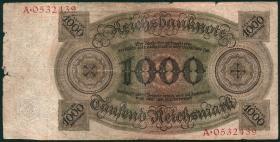 R.172a: 1000 Reichsmark 1924 Q/A (4)