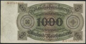 R.172M: 1000 Reichsmark 1924 Q/A MUSTER (3)