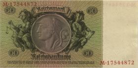 R.175c: 50 Reichsmark 1933 (1/1-) UDR F.
