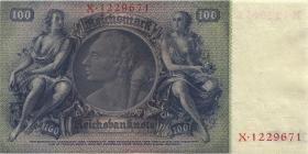 R.176b: 100 Reichsmark 1935 B/X  Liebig (1)