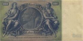 R.176c: 100 Reichsmark 1935 Liebig Kriegsdruck (1)