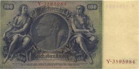 R.176F: 100 Reichsmark 1935 Liebig (1-)