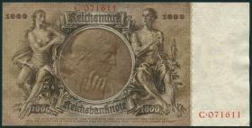 R.177: 1000 Reichsmark 1936 Schinkel Serie C (1)