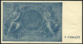 R.182c: 100 Reichsmark 1945 Schörner (1)