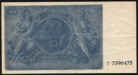 R.182c: 100 Reichsmark 1945 Schörner (3+)