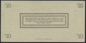 R.184a: 20 Reichsmark 1945 Sachsen (2)