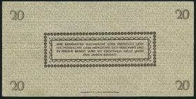 R.184a: 20 Reichsmark 1945 Sachsen (3)