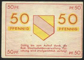 R.210: Baden 50 Pfennig 1947 (2)