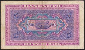 R.236b 5 DM 1948 G Ersatznote (3)